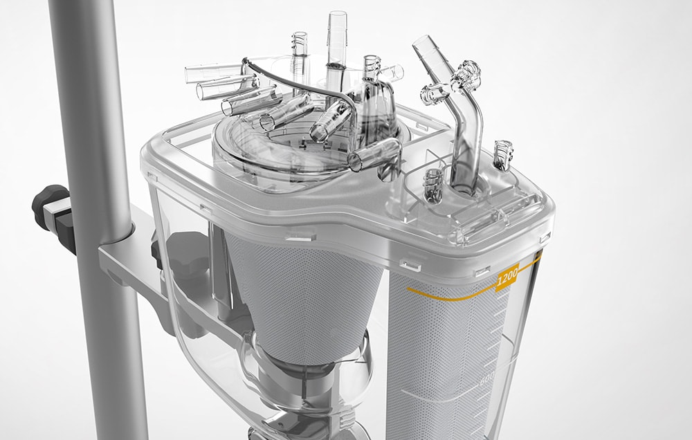 redesigned perfusion system
